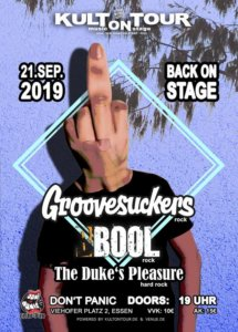 BOOL – TEN YEARS ON STAGE  KULT ON TOUR